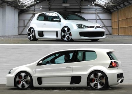 It's show-carVolkswagen Golf GTI